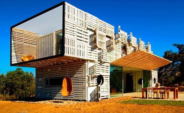 A cosa servono 800 pallet in legno a costruire una casa - Costo costruire casa ...